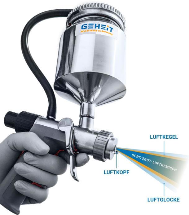 HVLP paint spray gun